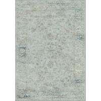"Safavieh Vintage Oriental Light Blue Distressed Silky Viscose Rug - 3'3"" x 5'7"""