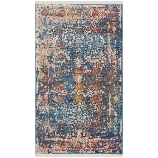 Safavieh Vintage Turquoise And Multi Colored Area Rug: Shop Safavieh Vintage Persian Turquoise/ Multi Distressed
