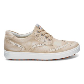 ECCO Casual Hybrid 2 Golf Shoes Ladies Sesame