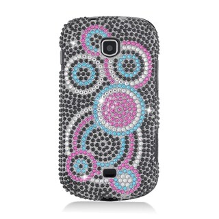 Samsung Galaxy Stellar Colorful Circle Full Diamond Case