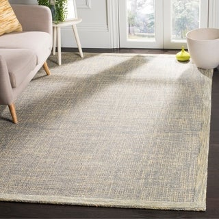 Safavieh Abstract Handmade Gold/ Grey Rug (6' x 9')
