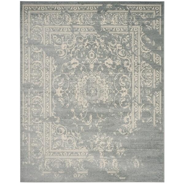Safavieh Adirondack Vintage Distressed Slate Grey / Ivory Rug - 6' x 9'