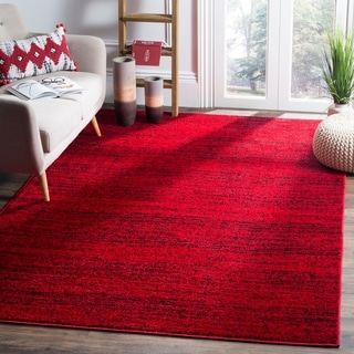 Safavieh Adirondack Modern Red/ Black Rug (6' x 9')