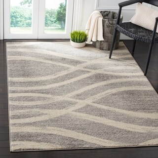 Safavieh Adirondack Modern Grey / Cream Rug (6' x 9')