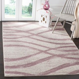 Safavieh Adirondack Modern Cream/ Purple Rug (5'1 x 7'6)