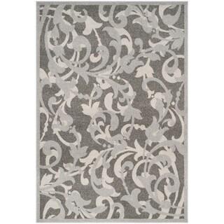 Safavieh Amherst Orpha Modern Indoor/ Outdoor Rug (5 x 8 - Grey/Light Grey)