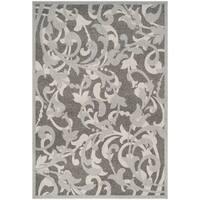 Safavieh Amherst Indoor/ Outdoor Grey/ Light Grey Rug (6' x 9')
