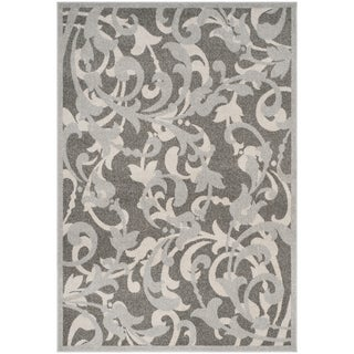 Safavieh Amherst Orpha Modern Indoor/ Outdoor Rug (4 x 6 - Grey/Light Grey)