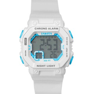 Dakota Kids and Teens Plastic and Stainless Steel Midsize Fun Color Digital Watch (4 options available)