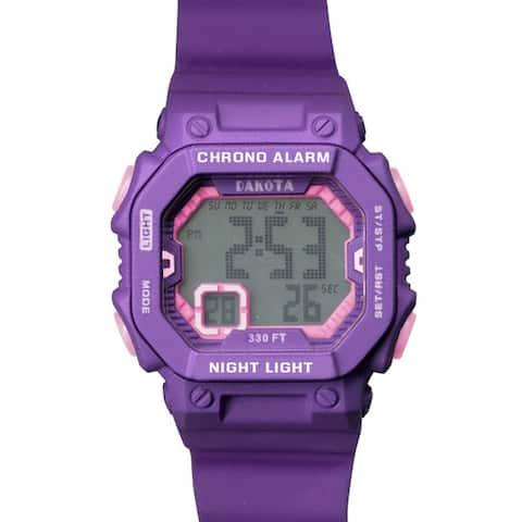 Dakota Kids and Teens Plastic Midsize Fun Color Digital Sport Watch