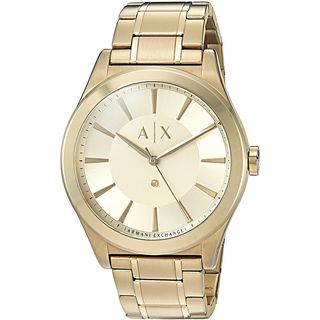 Armani Exchange Men's AX2327 'Nico' Diamond Gold-Tone Stainless Steel Watch