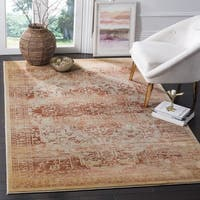 Safavieh Evoke Vintage Oriental Rust/ Cream Distressed Rug - 5' 1 x 7' 6