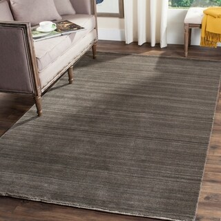Safavieh Handmade Himalaya Charcoal Wool Area Rug (6' x 9')