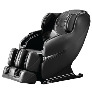 Galaxy Optima 2.0 Full Body Shiatsu Massage Chair Recliner with Heat & Shoulder Massage (Option: Black)