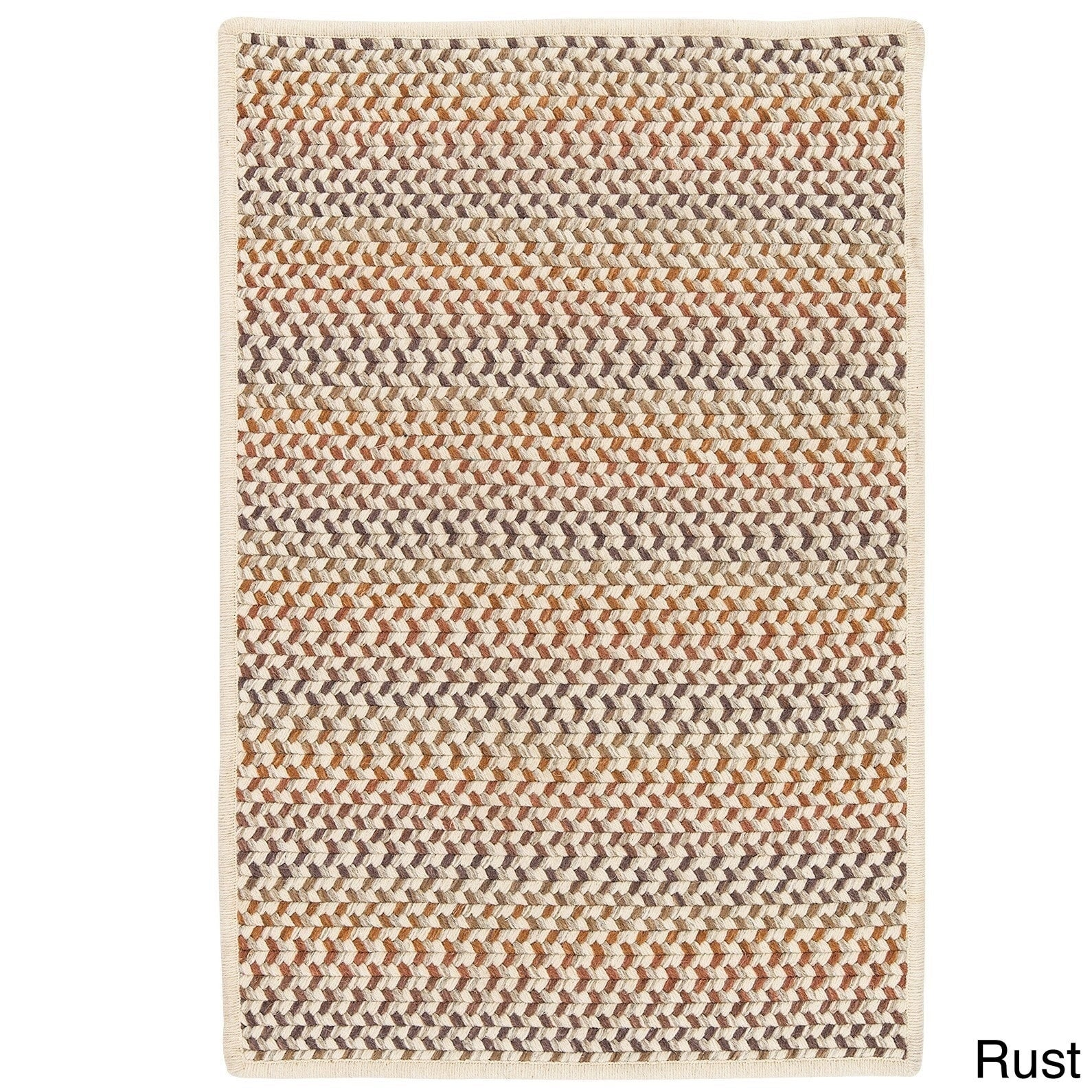 Colonial Mills Oakmont Multicolor Wool Braided Rug (5' x ...