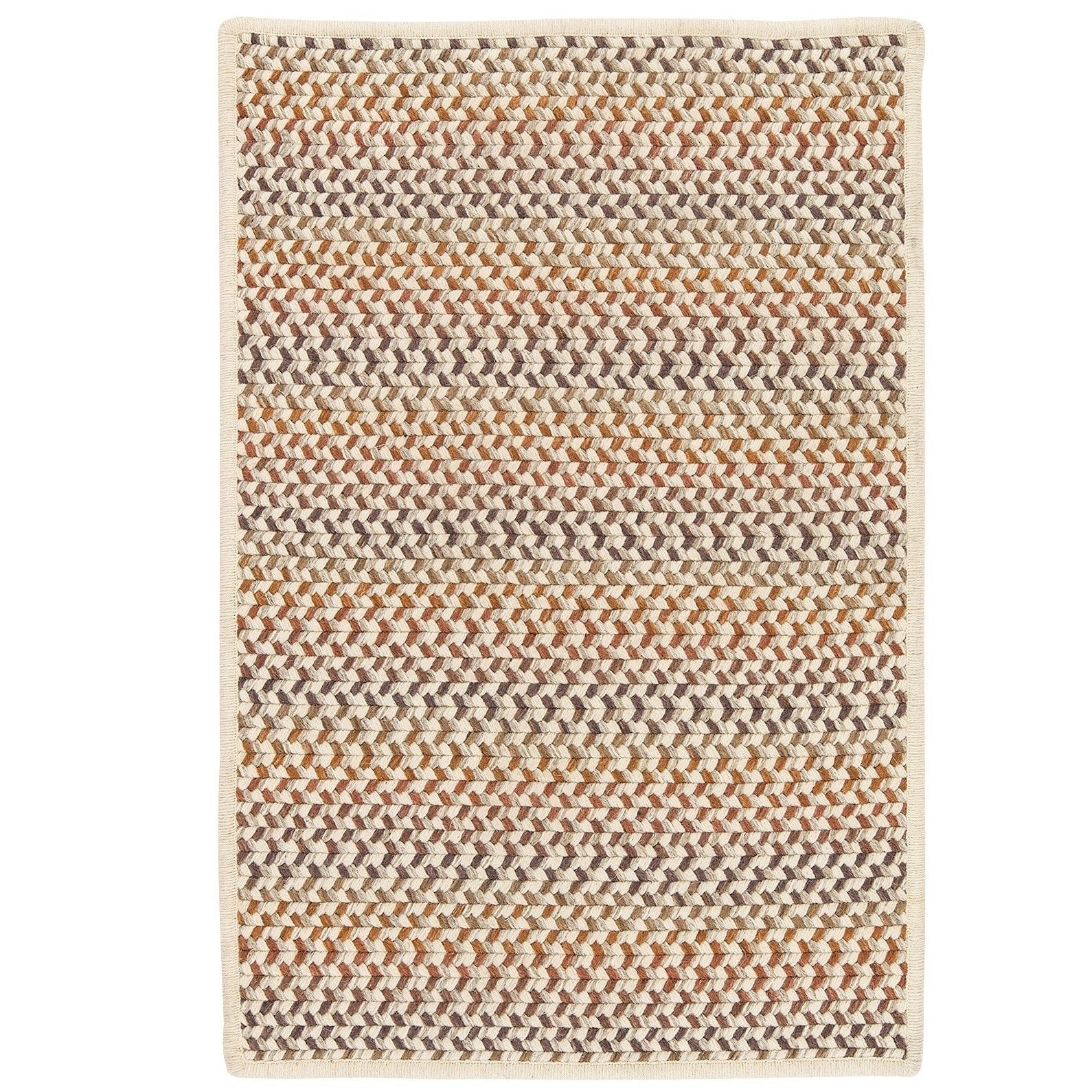 Colonial Mills Oakmont Multicolor Wool Braided Reversible...