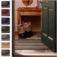 Countryside Braided Reversible Rug USA MADE - 2'6 x 4'2