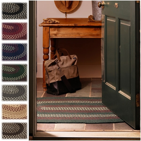Colonial Mills Countryside Braided Accent Rug - 1'10 x 2'10