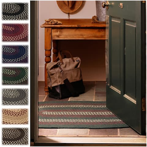 Colonial Mills Countryside Braided Accent Rug