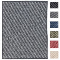Excalibur Weave Braided Reversible Rug USA MADE - 6' x 8'