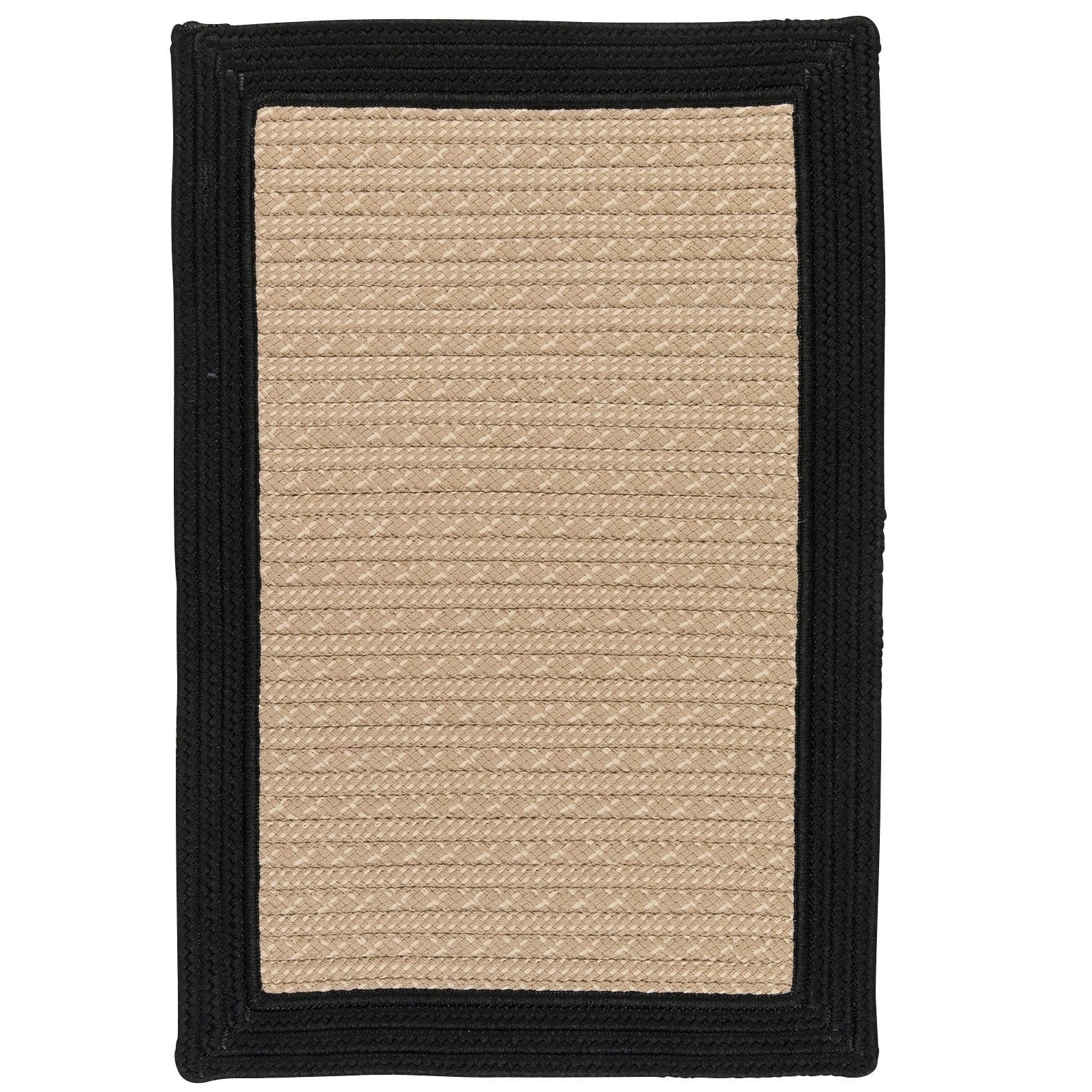 Colonial Mills Polypropylene Textured Border Area Rug (2'...