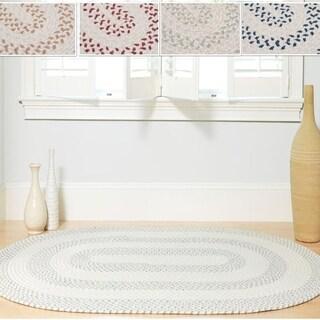 Elegance Braided Texture Rug (5' x 8')