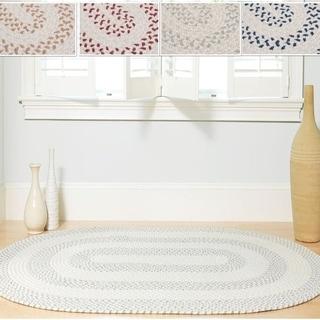 Elegance Braided Texture Rug (6' x 9')
