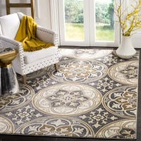 Safavieh Lyndhurst Traditional Light Grey/ Beige Rug - 6' x 9'