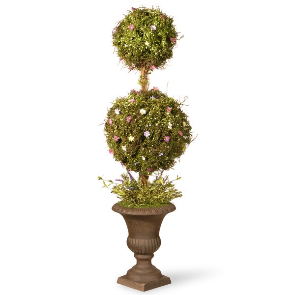 """Spring Topiary Tree with Two Balls (45"""")"""