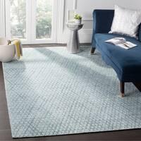 Safavieh Handmade Mirage Indigo Wool/ Viscose Rug - 6' x 9'