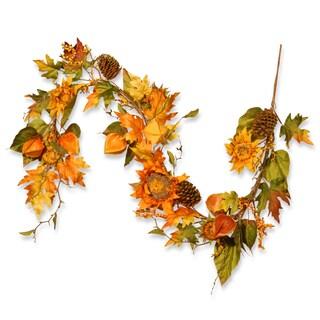"Autumn/Thanksgiving/Holiday Sunflower Garland (72"")"