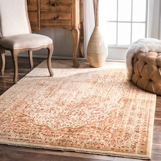 nuLOOM Traditional Vintage Distressed Rug (5' x 8')