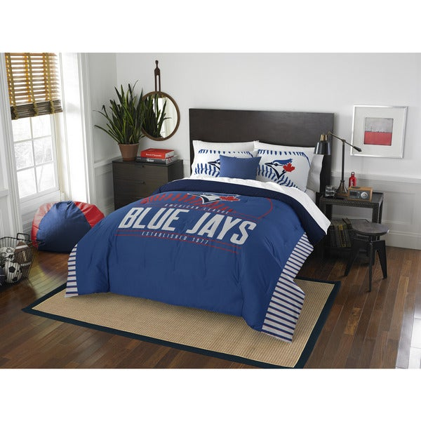 The Northwest Company MLB 849 Blue Jays Grandslam Full/Queen 3-piece Comforter Set