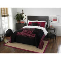 The Northwest Company MLB Arizona Diamondbacks Grandslam Red/Black Full/Queen 3-piece Comforter Set