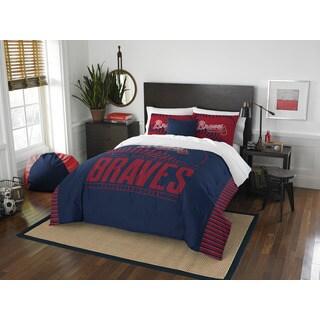 The Northwest Company MLB Atlanta Braves Grandslam Full/Queen 3-piece Comforter Set