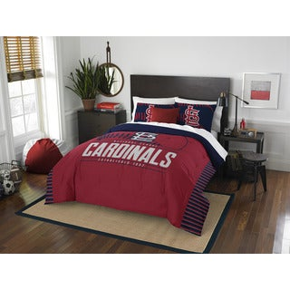 The Northwest Co MLB St. Louis Cardinals Grandslam Full/Queen 3-piece Comforter Set