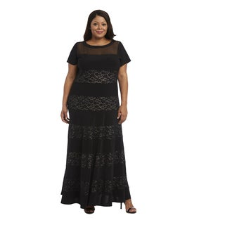 R M Richards Plus Size Evening Gown
