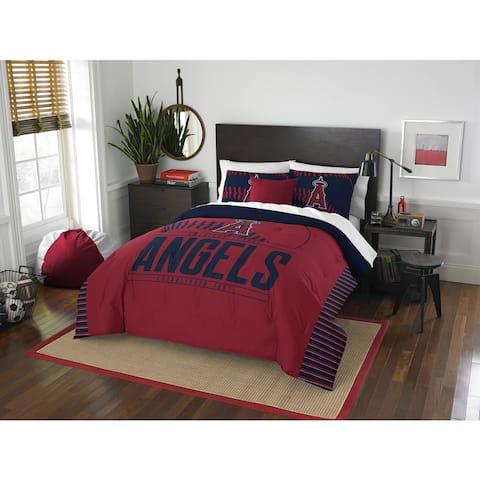 The Northwest Company MLB Los Angeles Angels Grandslam Full/Queen 3-piece Comforter Set