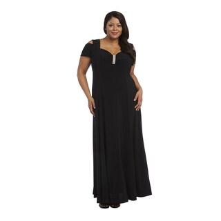 R&M Richards Plus Size Evening Gown