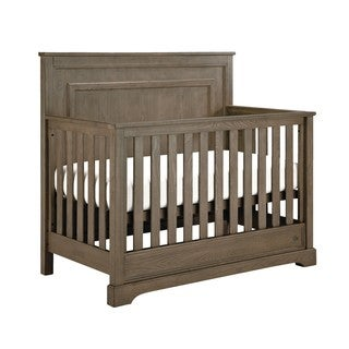 Greyson 4-in-1 Oak-finished Wood Convertible Crib