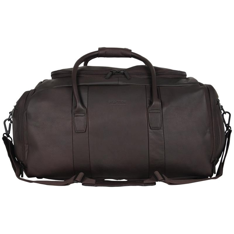 Sport Bag Lightweight MultiCompartment Polyester Black Carry Duffel Bag