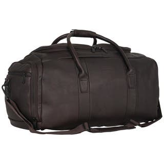 Kenneth Cole Reaction Colombian Leather 20-inch Top Load Multi-Compartment Duffel  Bag   ad104675e5