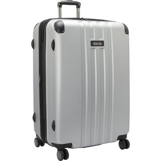 Kenneth Cole Reaction 'Reverb' Lightweight Hardside Expandable 8-wheel Spinner 29-inch Checked Luggage (Option: Light Silver)