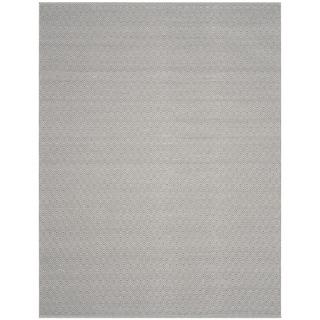 Safavieh Handmade Flatweave Montauk Eliina Casual Cotton Rug (8 x 10 - Ivory/Grey)
