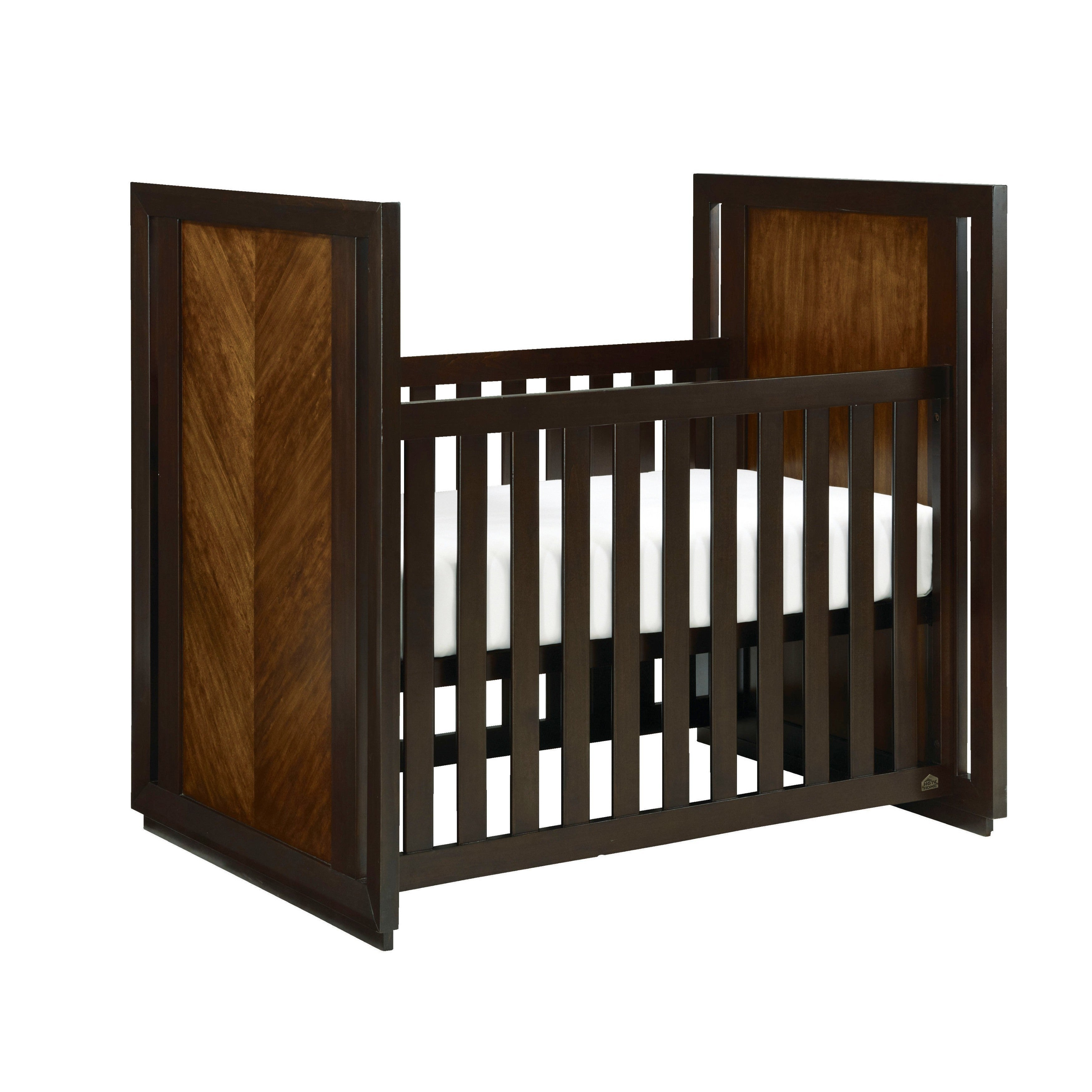 Bassettbaby Hgtv Home Hayden Cherry Finished Wood And Met