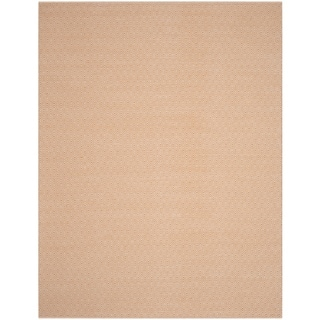 Safavieh Handmade Flatweave Montauk Eliina Casual Cotton Rug (5 x 8 - Ivory/Rust)
