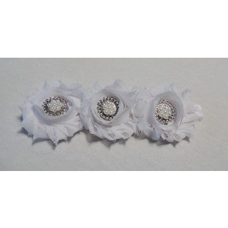 Shabby Chic Flower Headband