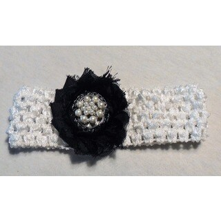 Fashion Pearl Cluster Headband