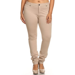 Women's Plus Size Slim-fit Pants
