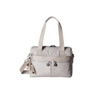 Kipling Klara Slate Grey Nylon Crossbody Handbag